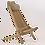 Thumbnail: Liegestuhl Eiche EcoFurn ECO Chair