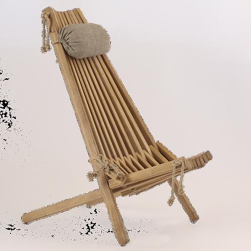 Liegestuhl Eiche EcoFurn ECO Chair