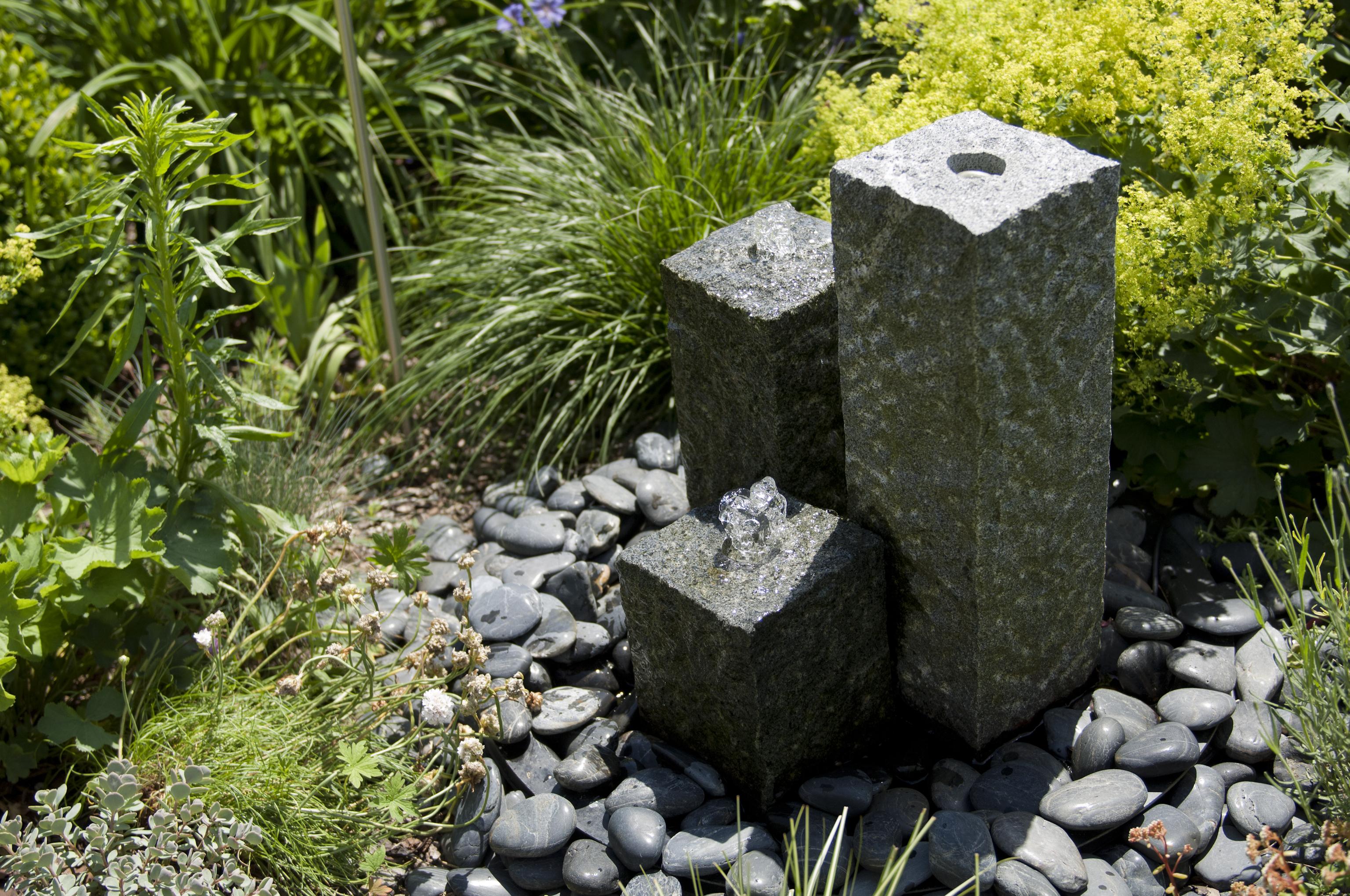 Wasserspiel Granit