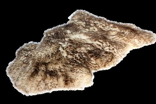 Schafsfell dunkel gefärbte Spitzen groß