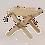 Thumbnail: Hocker / Tisch Lilli sibirische Lärche natur EcoFurn