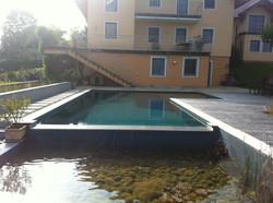 Schwimmteich Filterbecken
