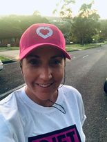 Not the best scenery in the burbs - have found my new running hat