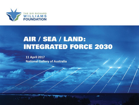Conference: Air / Sea / Land: Integrated Force 2030 - Final Report