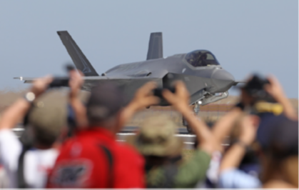 On Target: Fourth to Fifth Generation: Enter the F-35A Lightning II