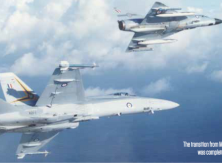 On Target: Mirage IIIO to F/A-18A Hornet Lightweight to Light-heavyweight fighter transition