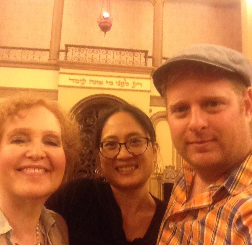 with Cantor Anna Ott, New Brunswick, NJ