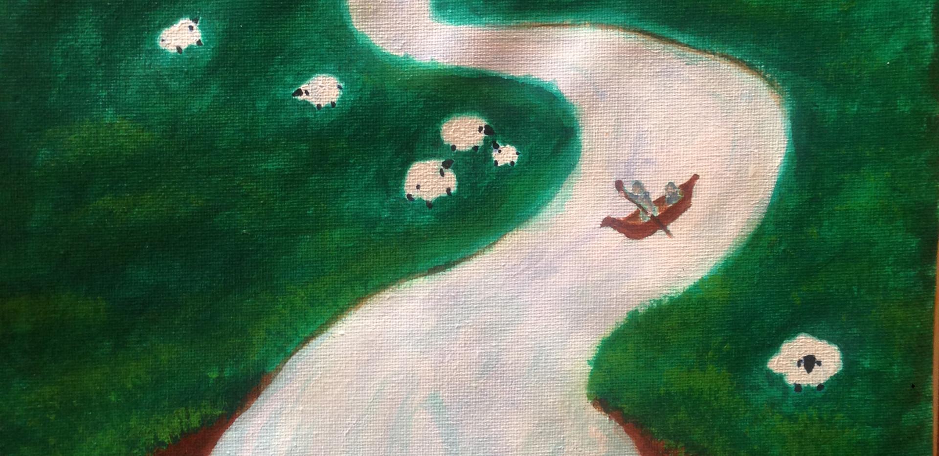 Mizmor L'David - Feliza Painting