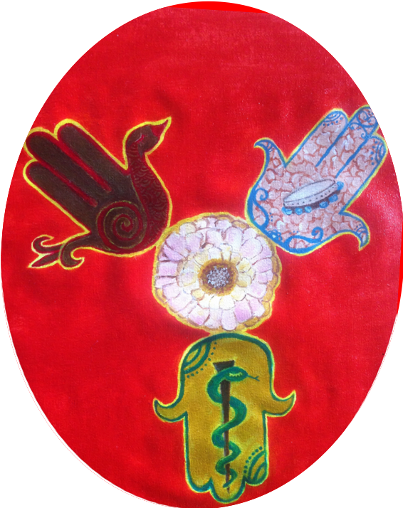 El Na Refa Na La - Feliza Painting