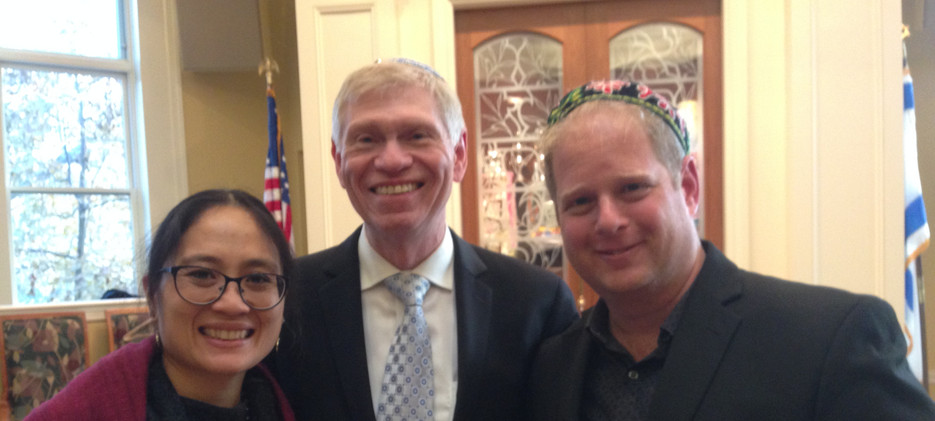 with R. Stu Gershon, Summit, NJ