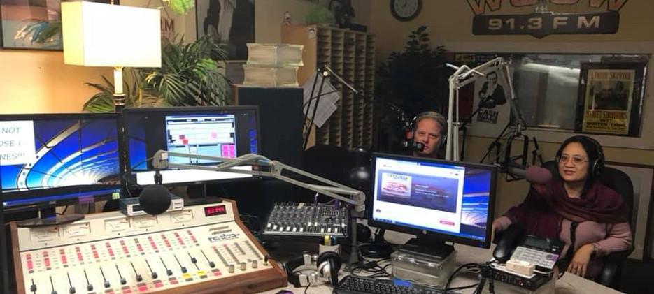 Radio Interview 12.18, Lexington, Mass.