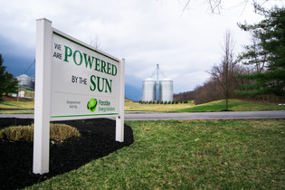 One of the Largest Agricultural Solar Installations in MD