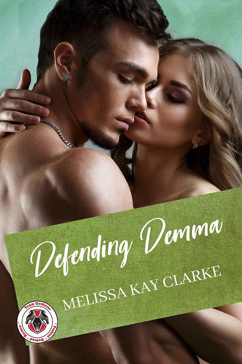 Defending Demma Autographed