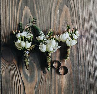 Bouquets de mariage Anneaux de demoisell