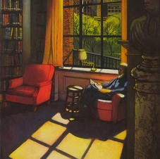 Light Reading II (Boston Athenaeum)