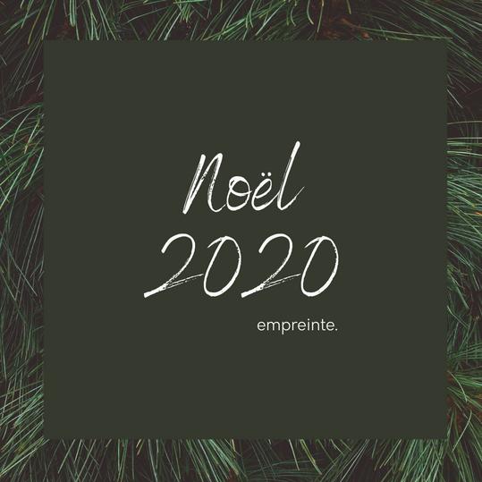 Menu Noel 2020