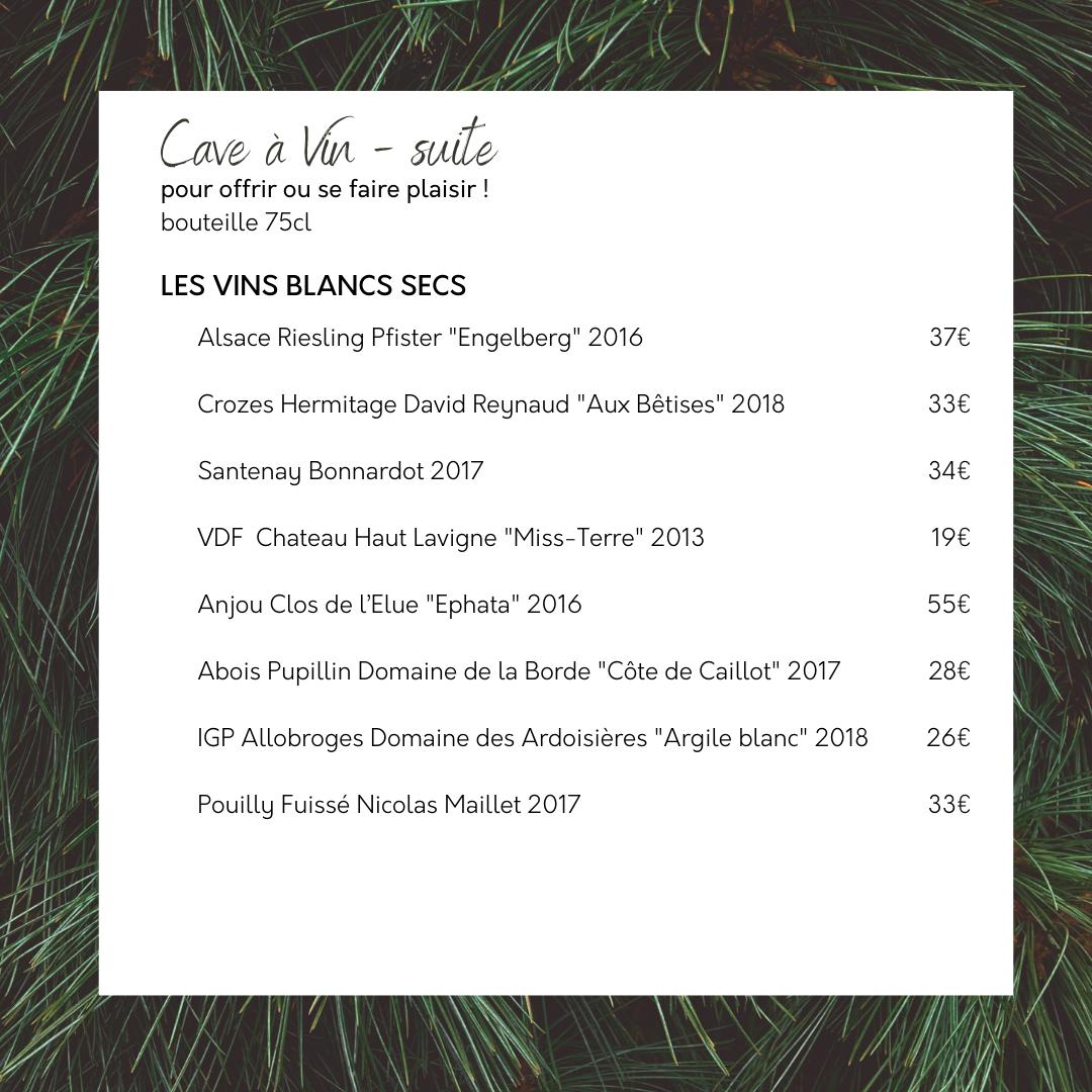 Cave à vin empreinte 2020