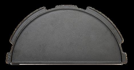 XL Half-Moon Cast Iron Plancha Griddle.p