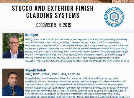 IIBEC Educational Program - Stucco and Exterior Insulation and Finish Systems (EIFS)
