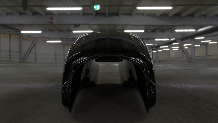 Vred Tank Black.w.Motogadget.Garage Test
