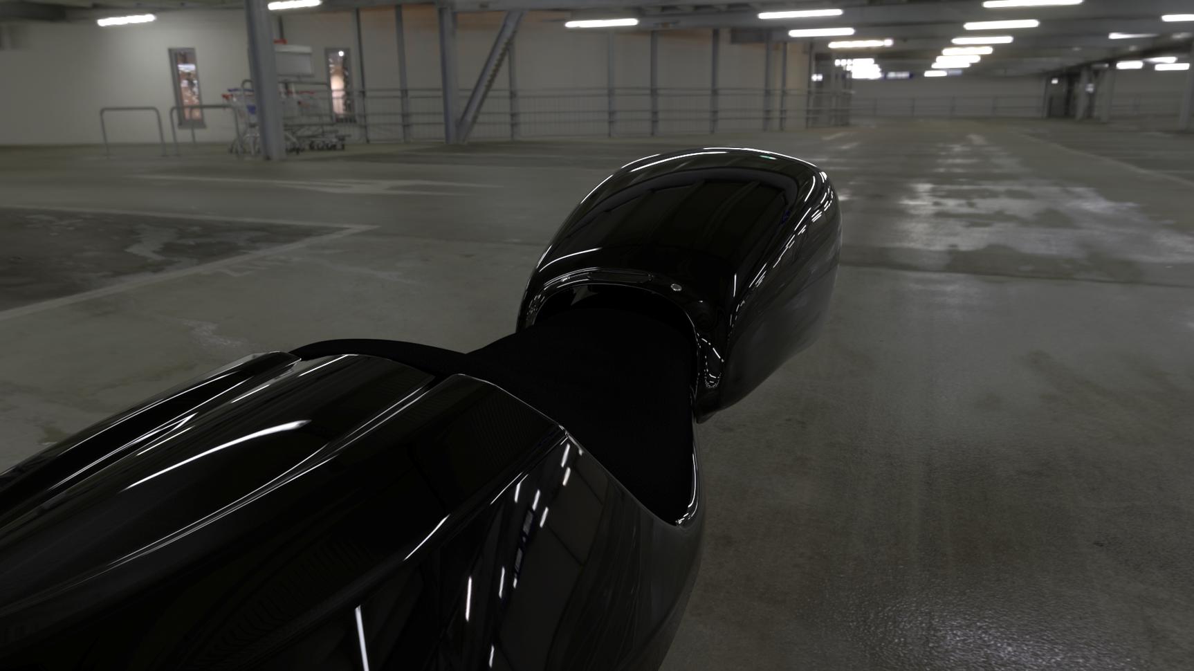 Vred All Parts All Black Garage Closeup2