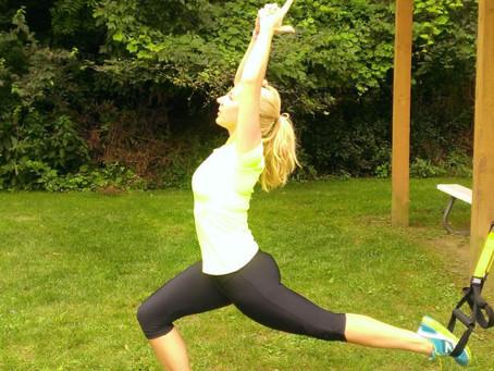 TRX Meets Sun-Salutation Workout