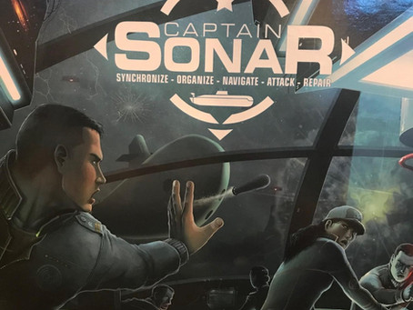 Captain Sonar v Sonar - Dastardly Review #104