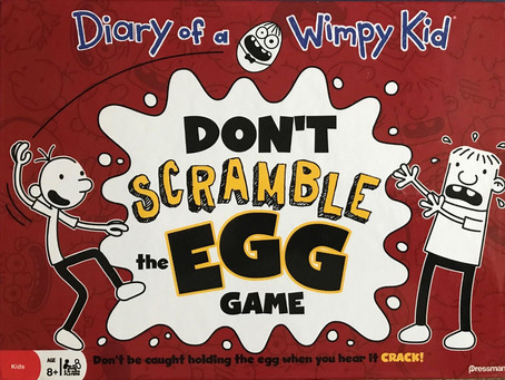 Don't Scramble the Egg Game - Dastardly Review #068