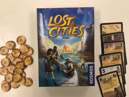 Lost Cities Rivals - Dastardly Review #113
