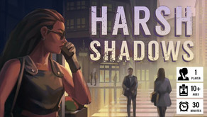 Harsh Shadows - Dastardly Review #142