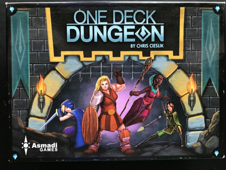 One Deck Dungeon - Dastardly Review #133