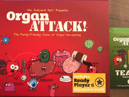 Organ Attack! - Dastardly Review #018