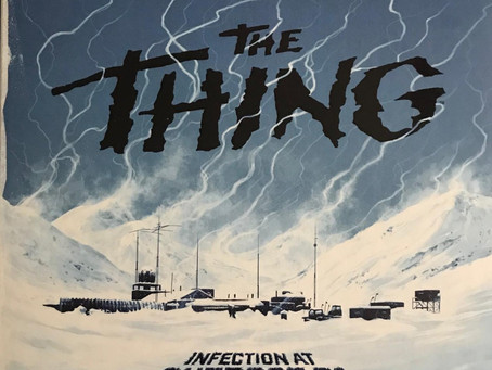 The Thing Infection at Outpost 31 - Dastardly Review #081