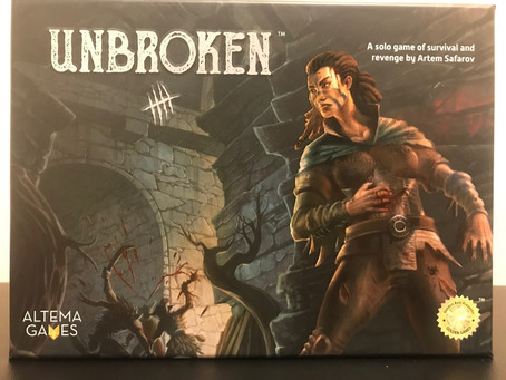 Unbroken - Dastardly Review #123