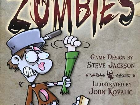 Munchkin Zombies - Dastardly Review #089