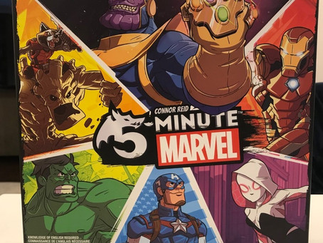 5 Minute Marvel - Dastardly Review #112