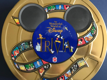 Wonderful World of Disney Trivia Game - Dastardly Review #056