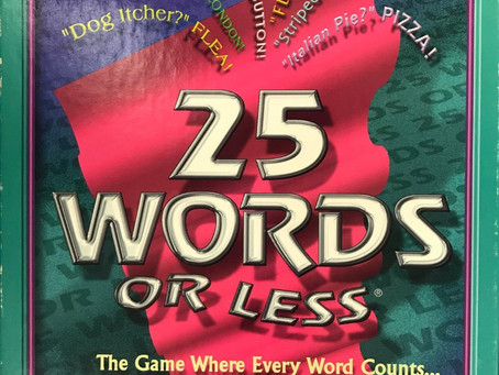 25 Words or Less - Dastardly Review #021