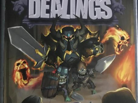 Dark Dealings - Dastardly Review #096