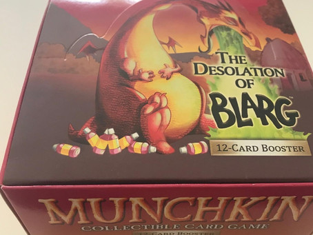 Munchkin CCG The Desolation of Blarg - Unboxing
