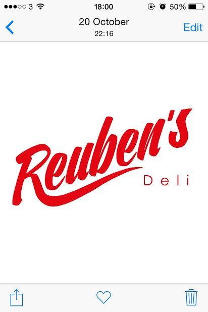 Reubens Logo