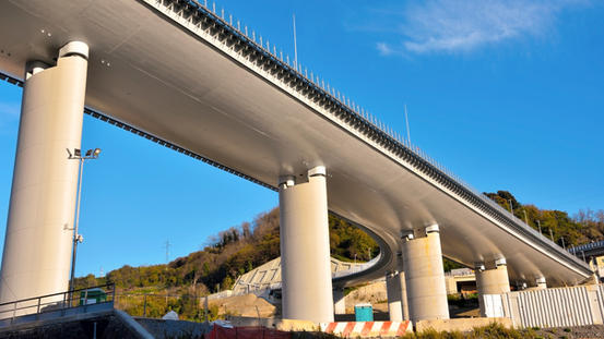 Morandi bridge