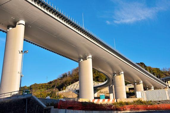 the new highway bridge (san giorgio) gen