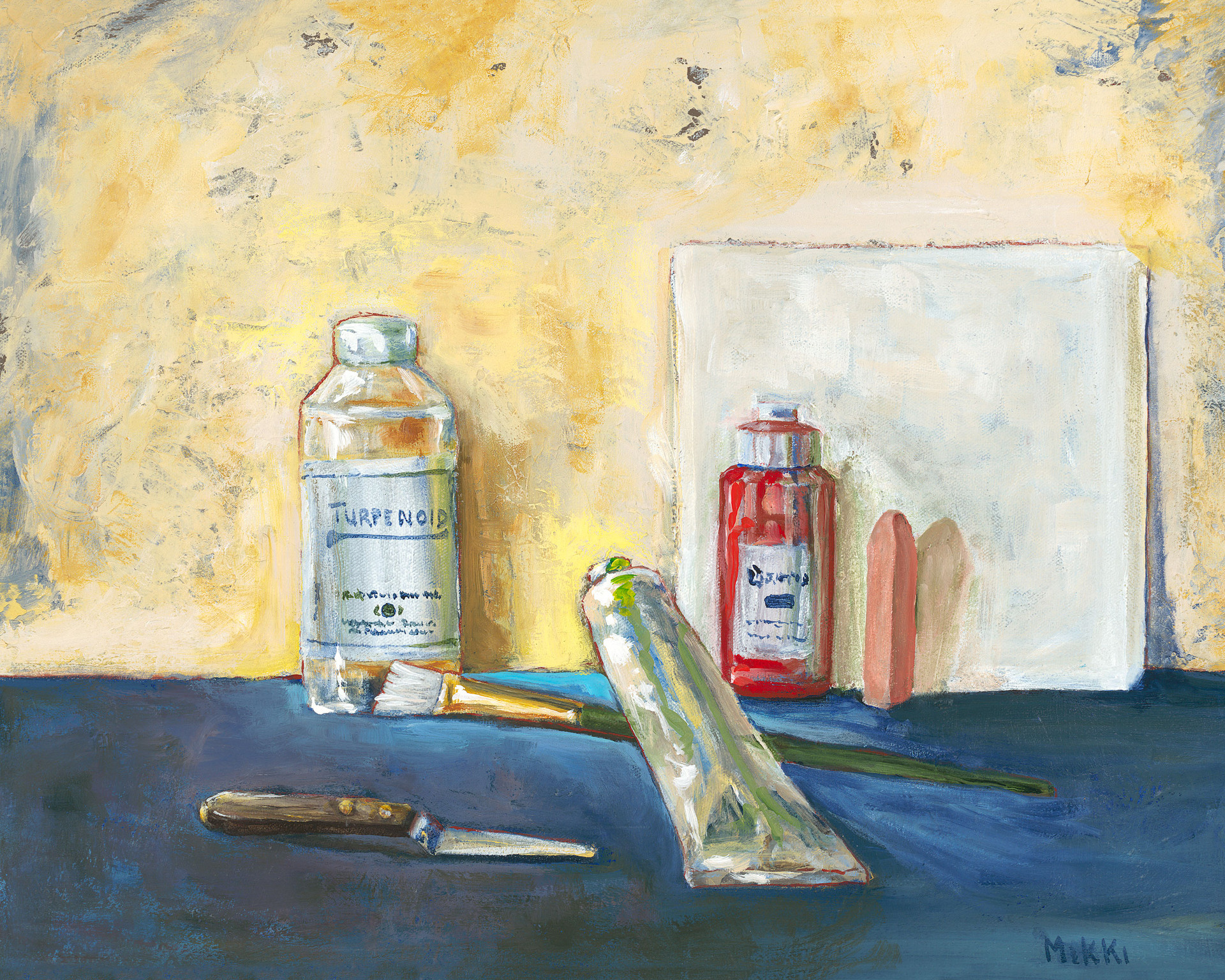 """Tools of the Trads, acrylic (16"""" x 20"""")"""