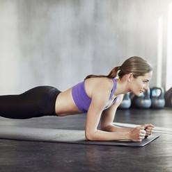 Girl Planking