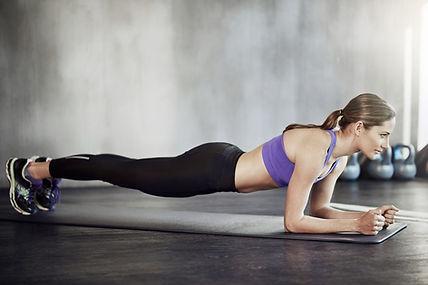Meisje Planking