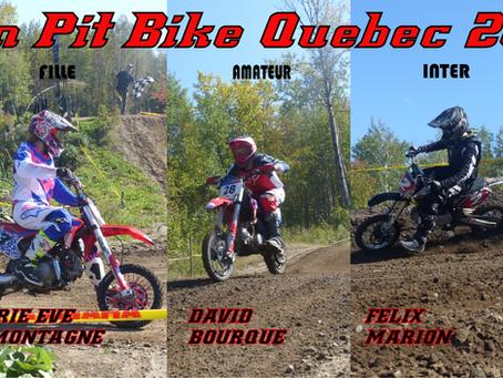 Fin championnat 2019 Pit Bike Quebec