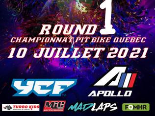 Round 1: 10 juillet 2021 à Issoudun.
