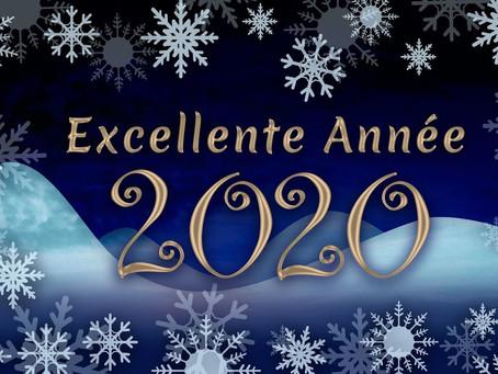 La rédaction vous souhaite une belle année 2020 !!!!!!!!
