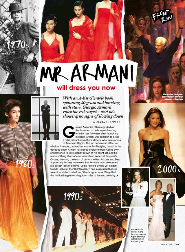 Giorgio Armani profile